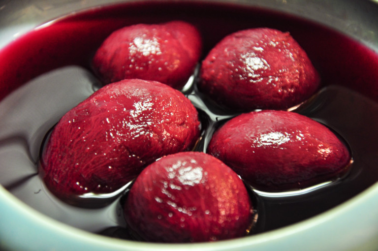 Stewed beetroot and cumin