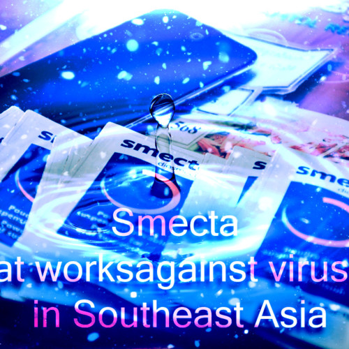 Smecta that works against viruses in Southeast Asia