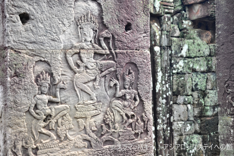 Around Bayon Temple and Elephant Terrace