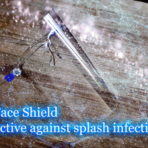 Is Face Shield effective against splash infection?