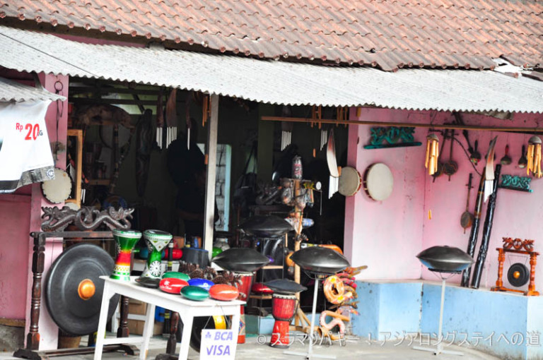 Where to buy hung drums cheaply in Ubud
