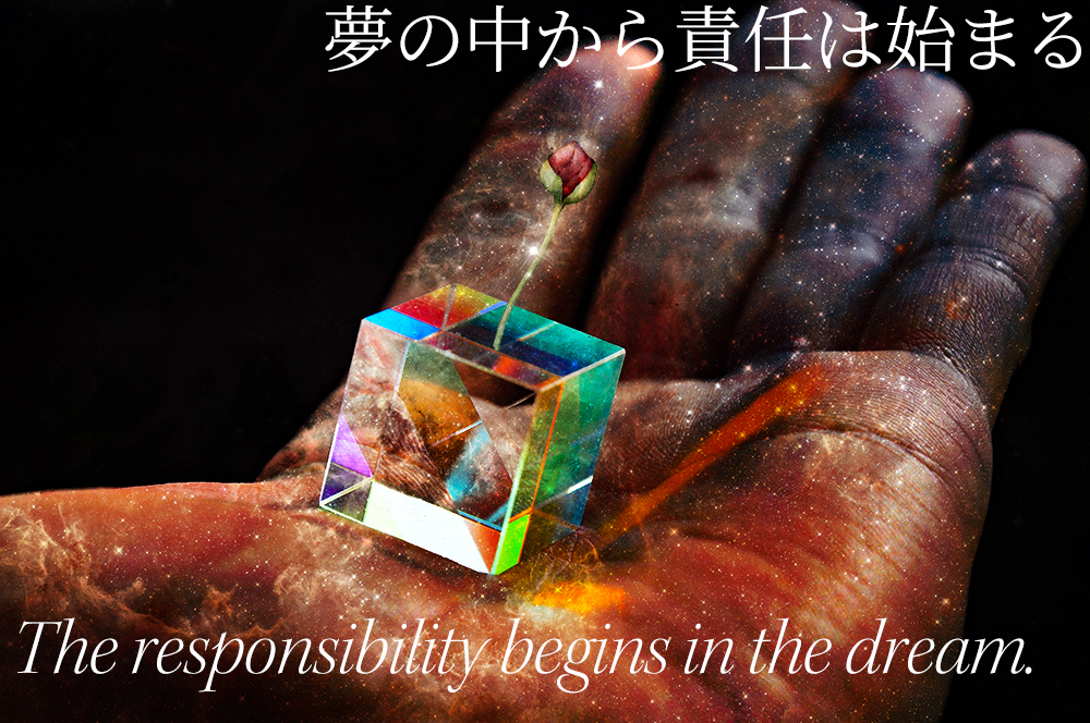 The responsibility begins in the dream. Quotes photo