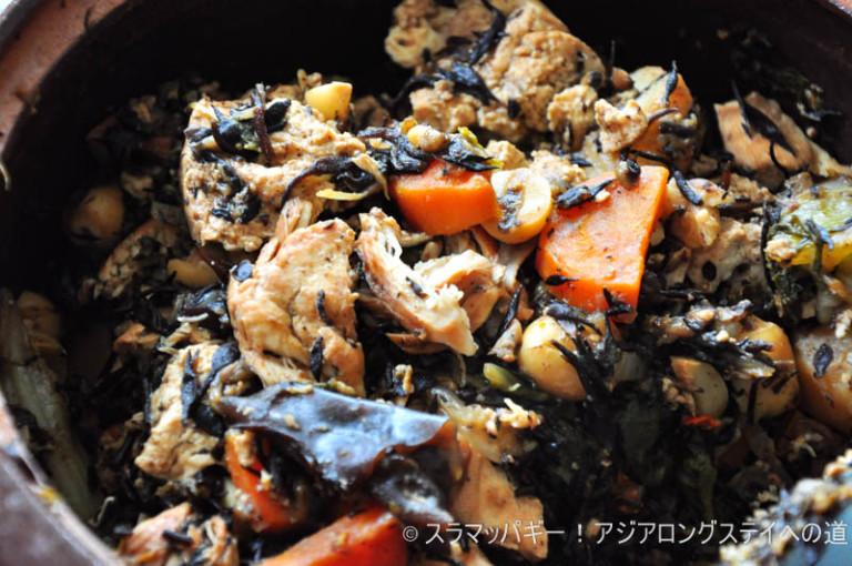 Boiled medicinal hijiki recipe
