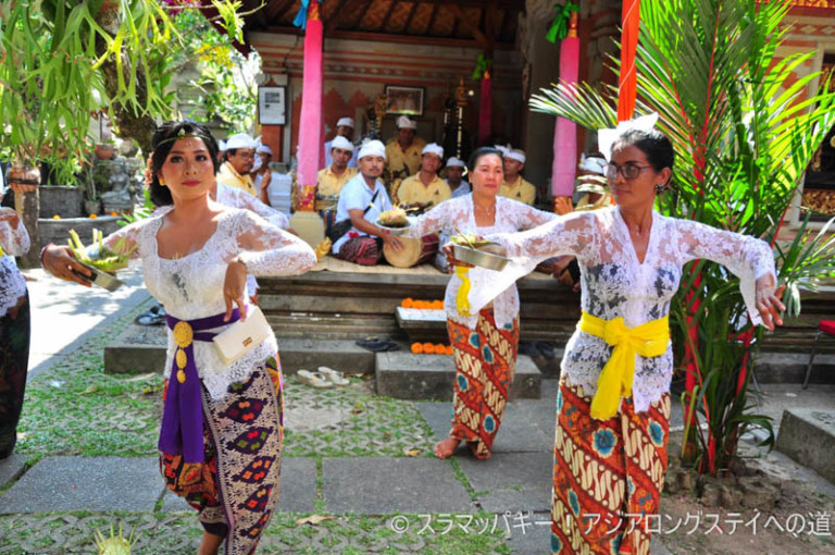 What you need to do to get invited to a local ceremony in Bali