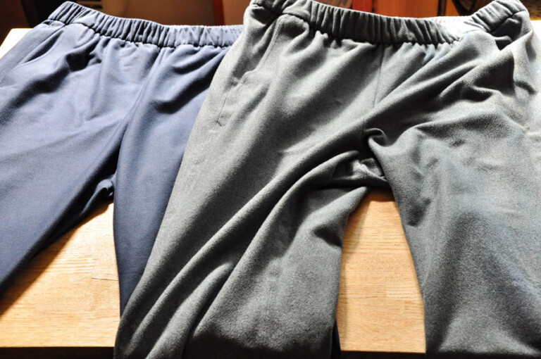 The North Face Tech Lounge Pants Differences in size and texture and examples of coordination