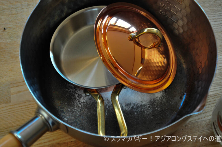 The best outdoor trip was the Copper Sierra size egg pan About starting to use and care