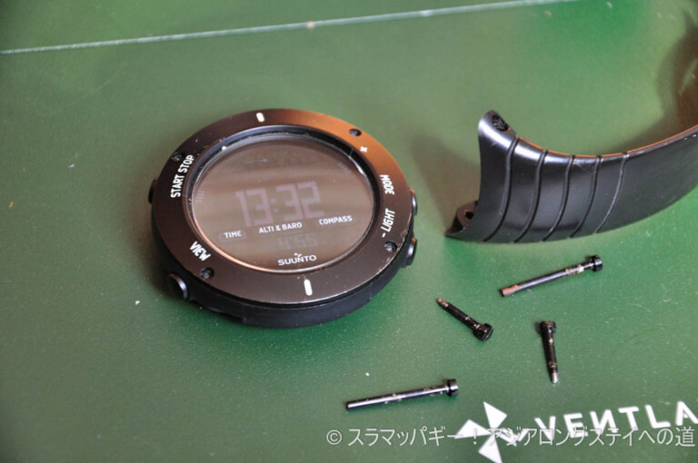 Belt replacement is completed in 5 minutes. Suunto Core in nato style. To you who are suffering from sweat stuffiness
